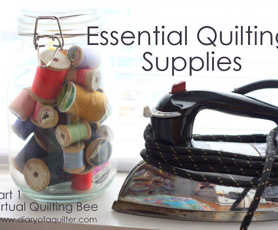 basic quilting supplies list