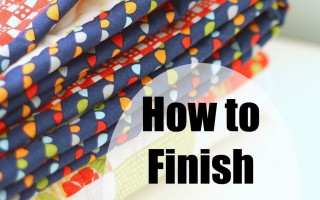 How to Finish and Bind a Quilt