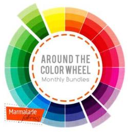 Marmalade Fabrics Color Wheel bundles