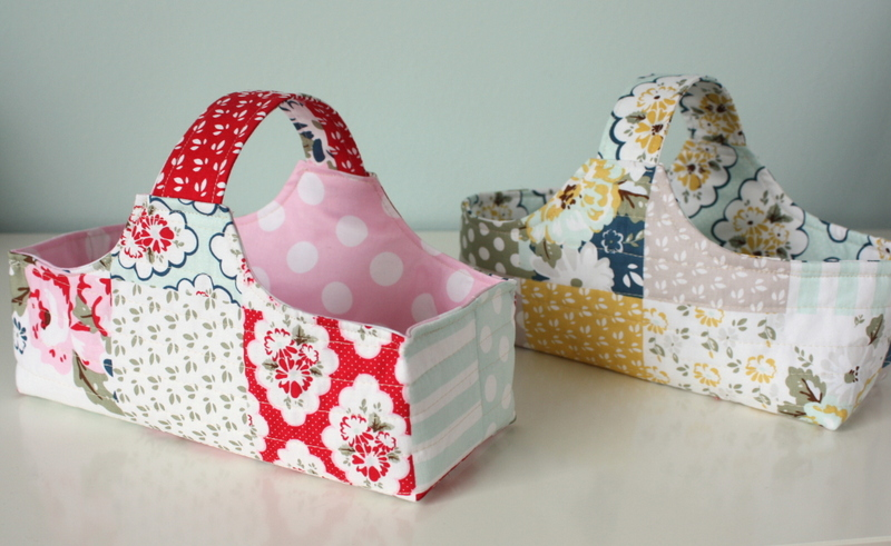 Fabric Basket and Eggs tutorial - Diary of a Quilter