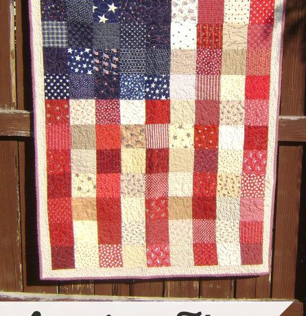 American Flag Quilt Tutorial