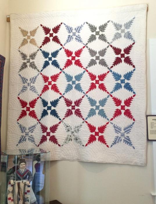 Vintage Pine Burr quilt