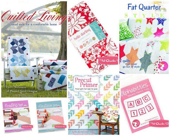 Fat Quarter Shop prizes