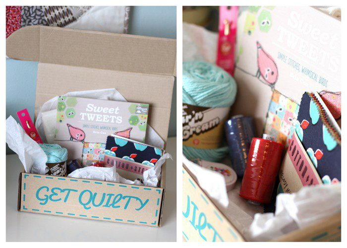 quilty box collage