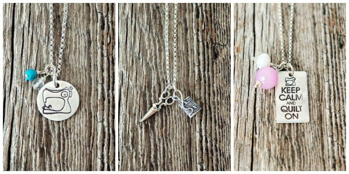 Charmed Collections sewing necklaces