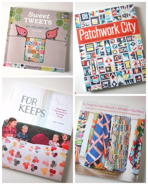 Quilt books of 2015