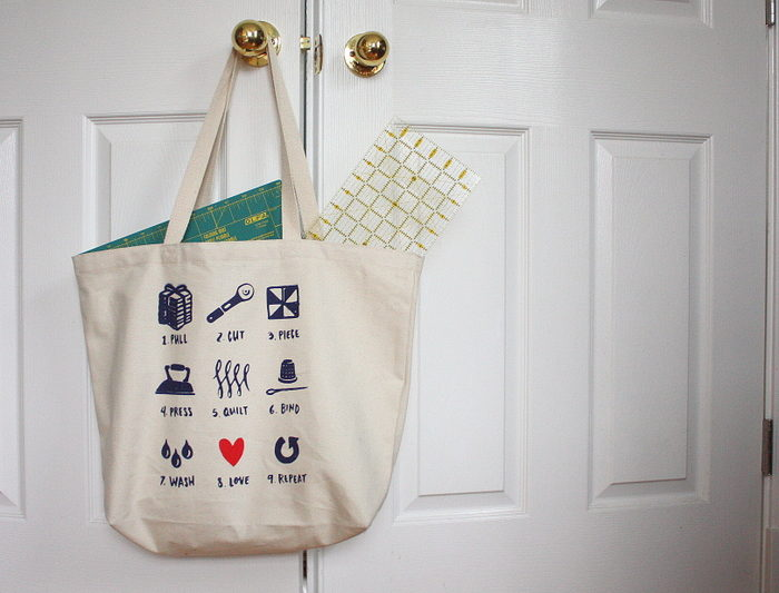 Quilter bag
