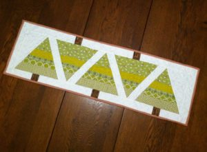 Christmas Tree Table Runner by May Chappell