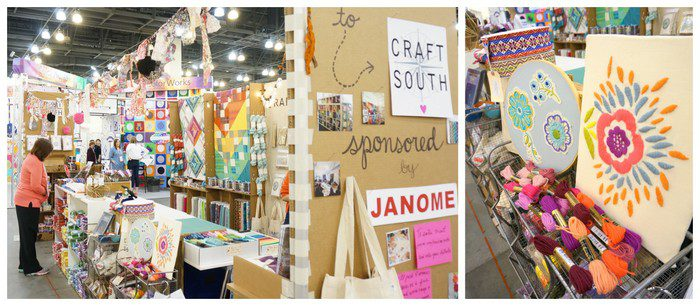 Craft South at QuiltCon