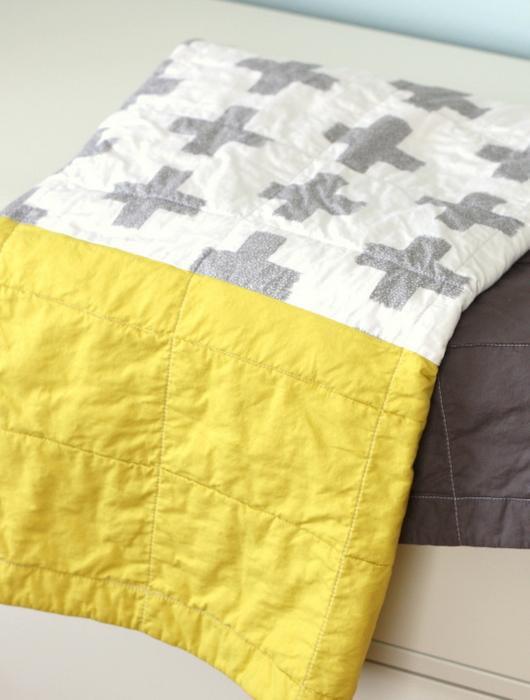 Beginner baby quilt kit