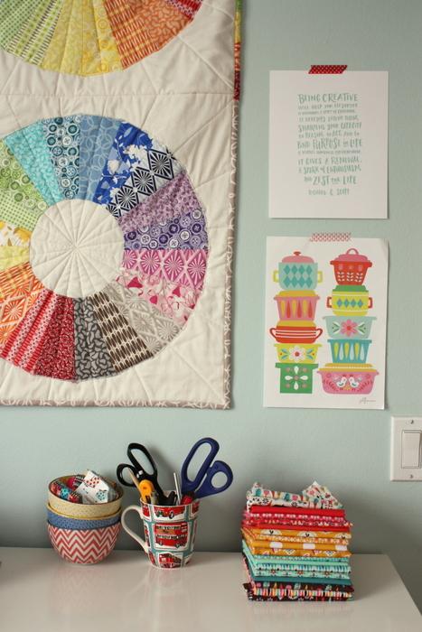 JoliJou Vintage Kitchen fabric prints