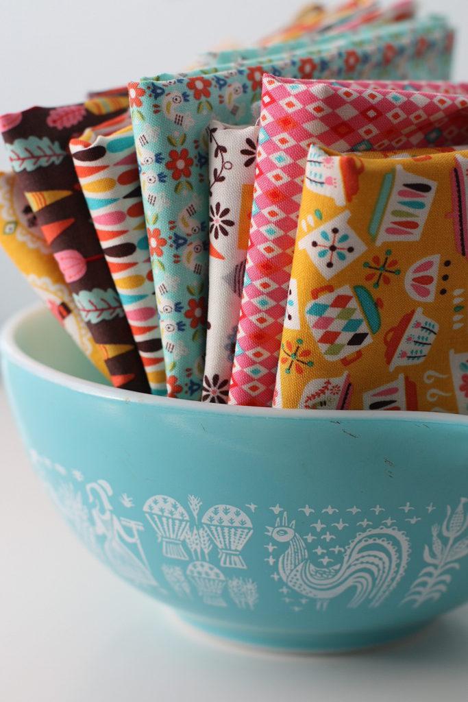 Riley Blake Vintage Kitchen fabric