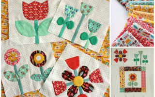 Vintage Kitchen fabric from Riley Blake