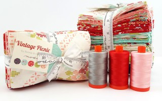 Vintage Picnic giveaway from Lady Belle Fabrics