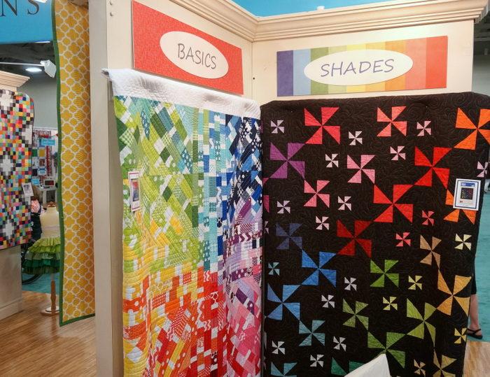 Riley Blake Basics and Shades quilts