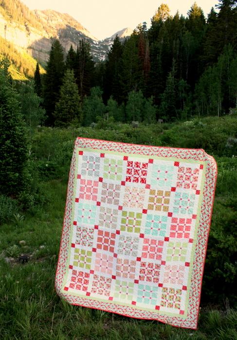 Amy Smart Basketweave quilt pattern