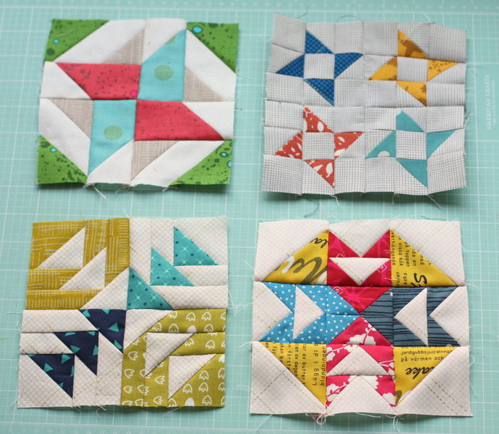 Quilt Patterns Using 6 Inch Squares : Splendid Sampler Quilt Blocks Update - Diary of a Quilter - a quilt blog