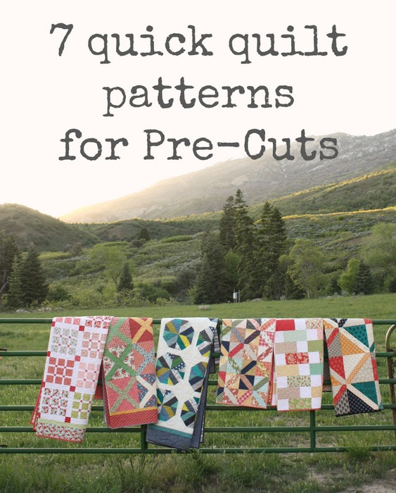 Quick Quilt tops made with Pre-cuts : quilting precuts - Adamdwight.com