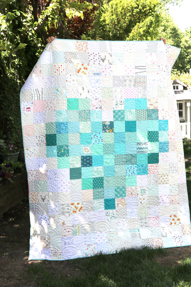 Pixelated Heart Patchwork Quilt Tips To Make One