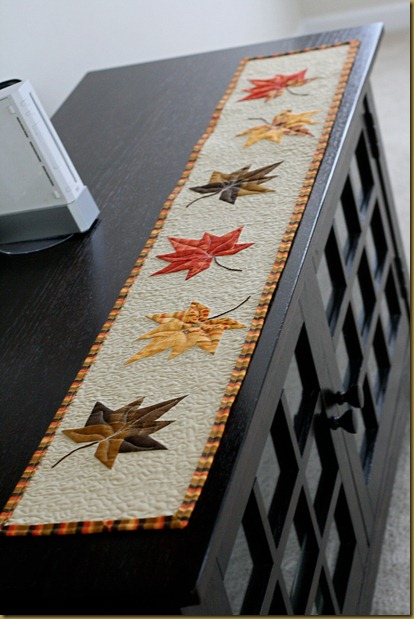 This Quilt As You Go Table Runner Is Still One Of My All Time Favorite Methods It S Perfect For Ss And Easy To Customize Any Size Like
