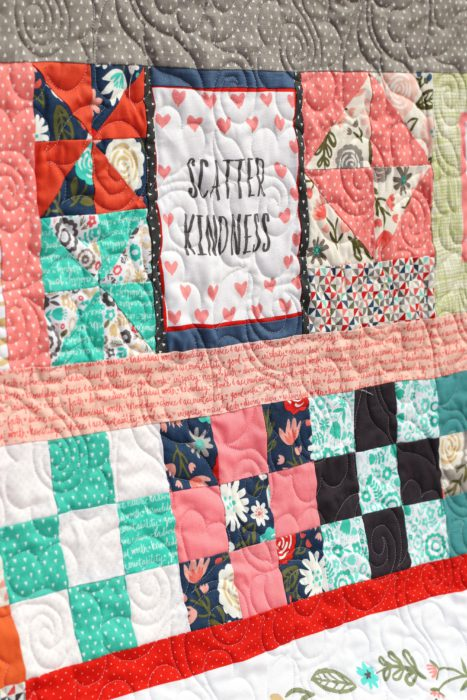Heart And Soul Fabric Panel By Deena Rutter